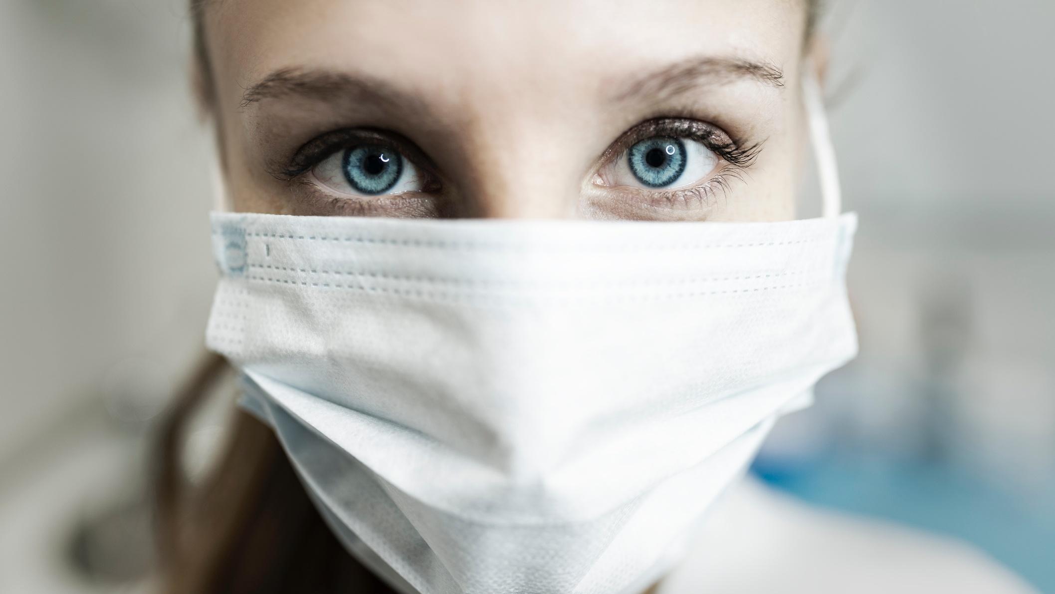 A szemen keresztül is bejuthat a szervezetbe. a koronavírus