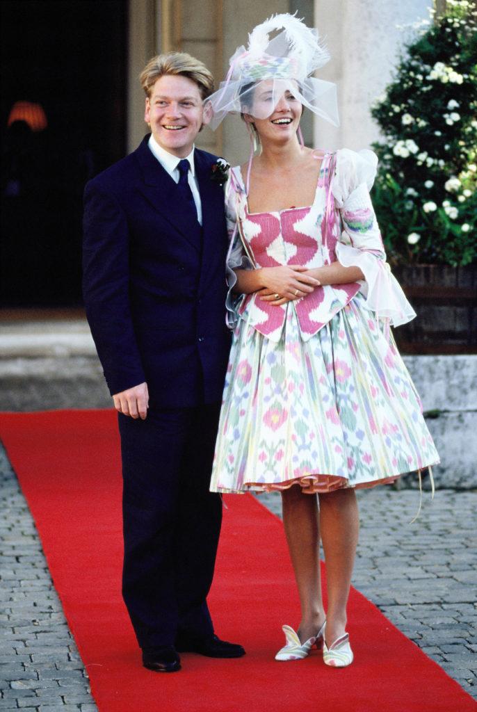 Kenneth Branagh és Emma Thompson 1989 augusztus 20-án házasodtak össze