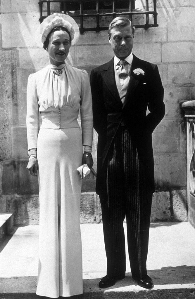 Wallis Simpson és III. Eduárd esküvője 1937-ben (Fotó: Keystone/Getty Images)