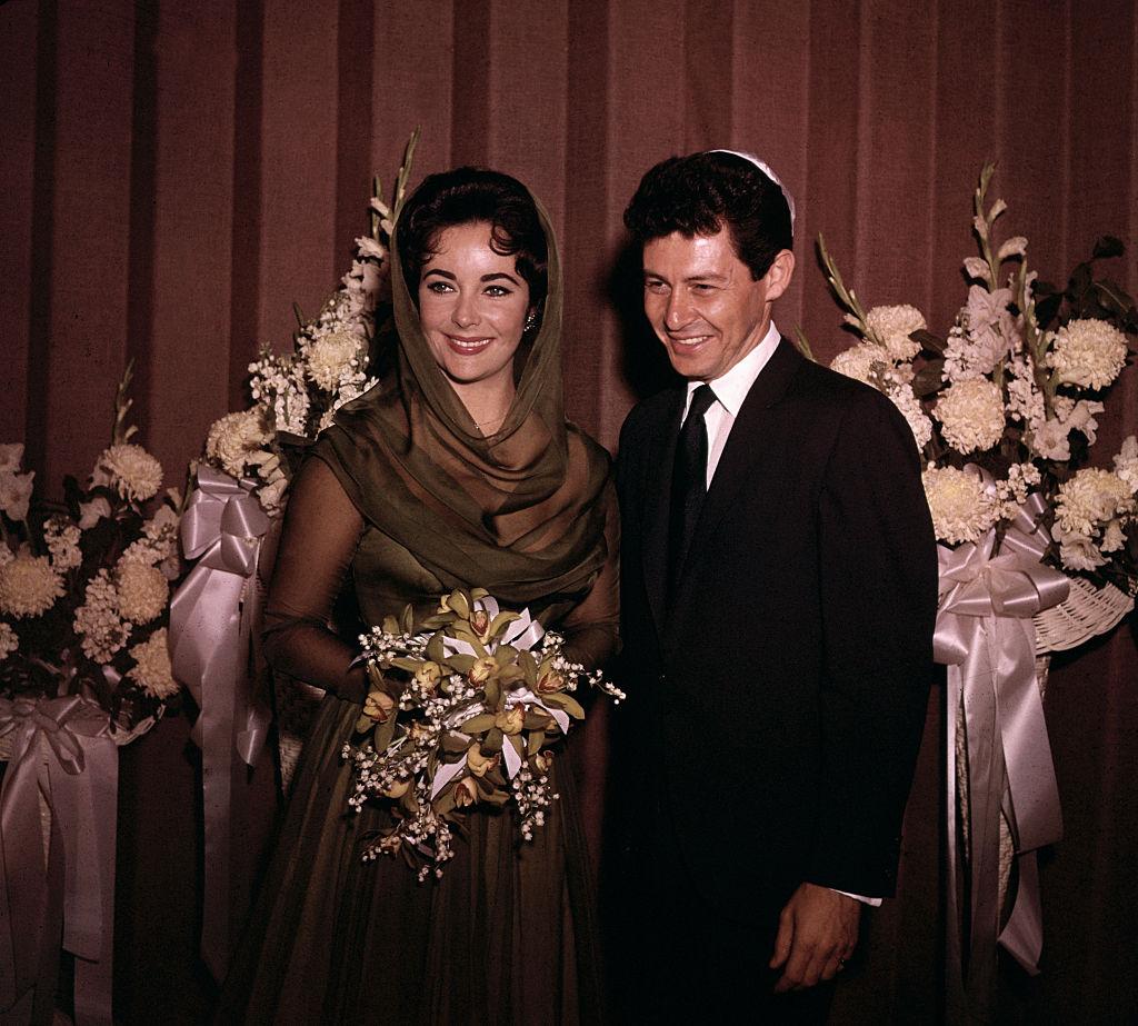 Elizabeth Taylor és Eddie Fisher esküvője