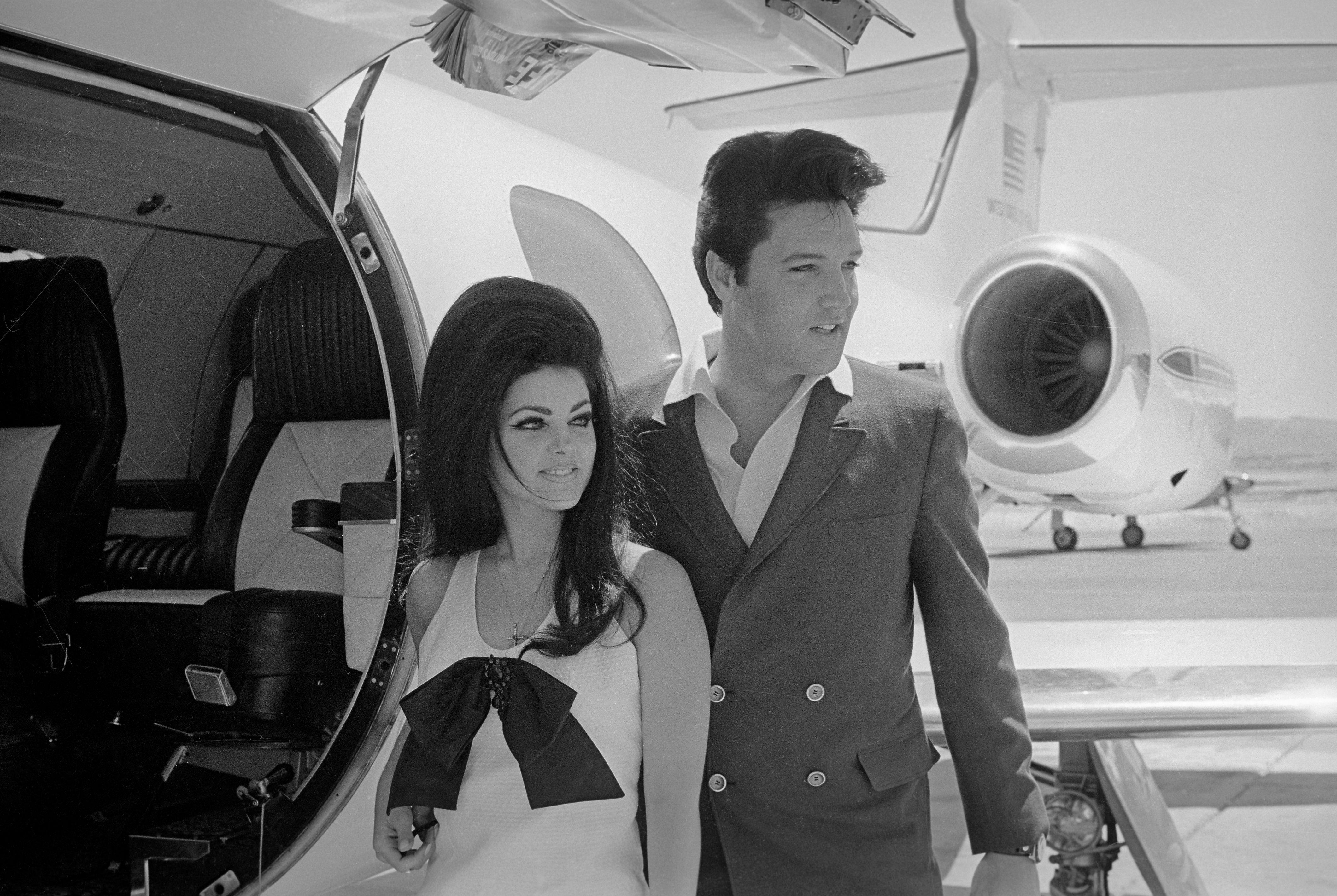 Elvis és Priscilla Presley