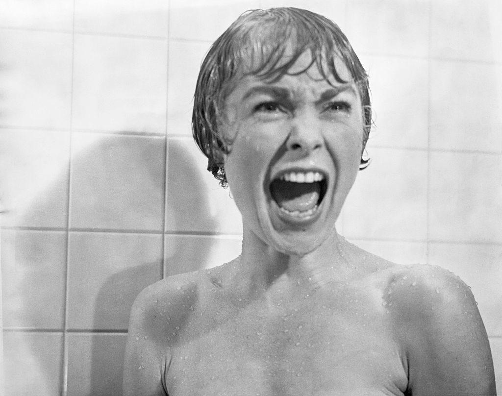 Marion Crane zuhanyzós jelenete (Fotó: Bettmann via Getty Images)