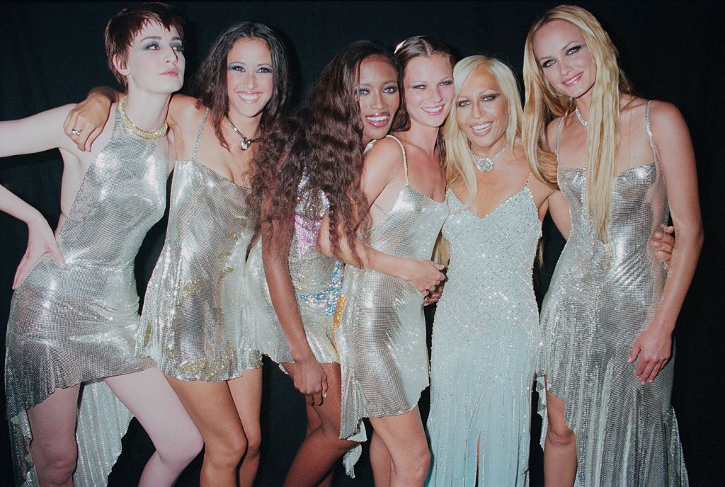 A Versace Diamonds are Forever kollekció bemutatóján