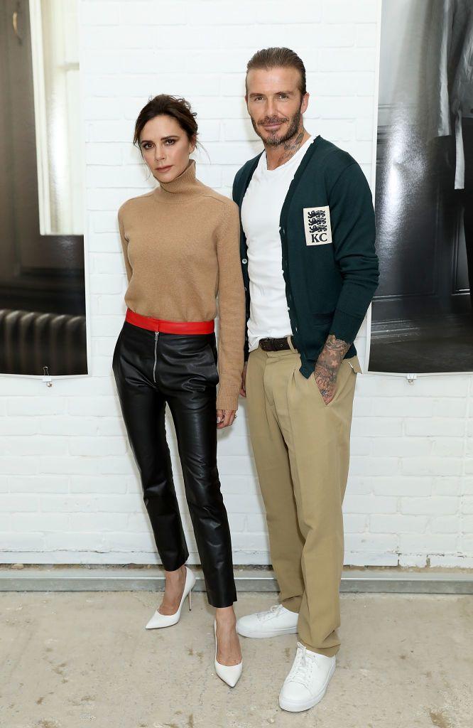 David és Victoria Beckham