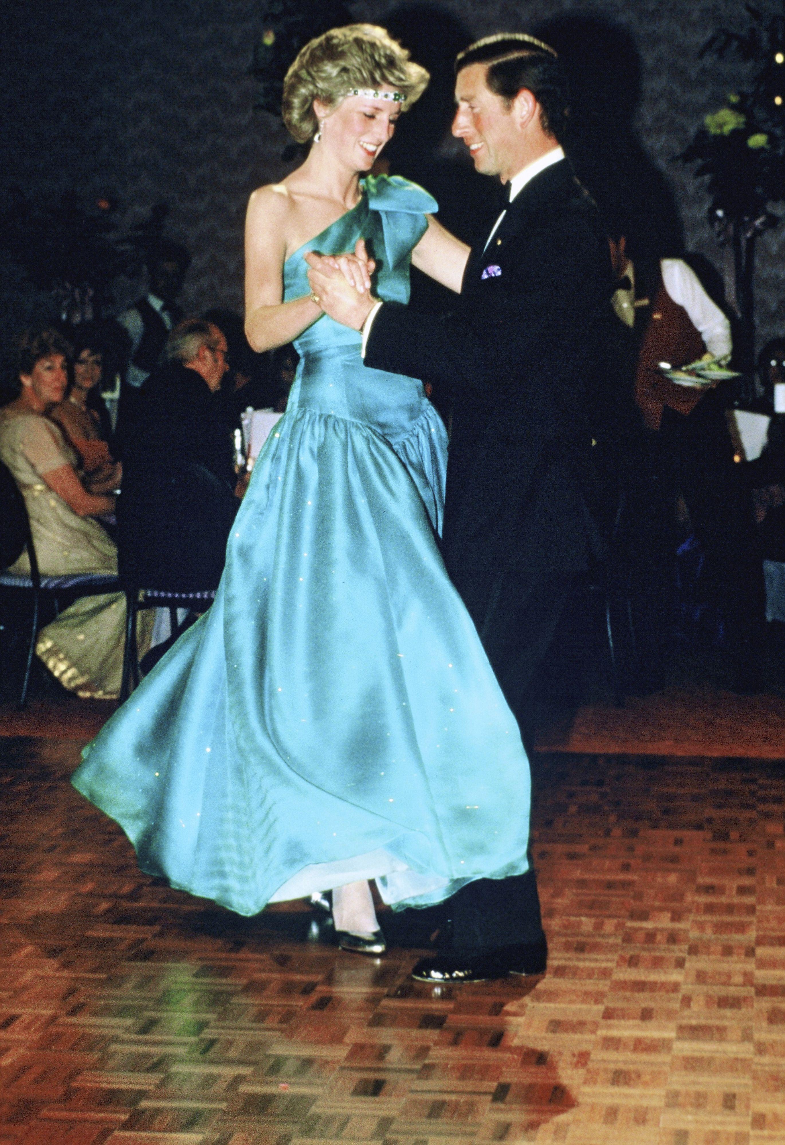 Diana hercegnő és Károly herceg 1985-ben