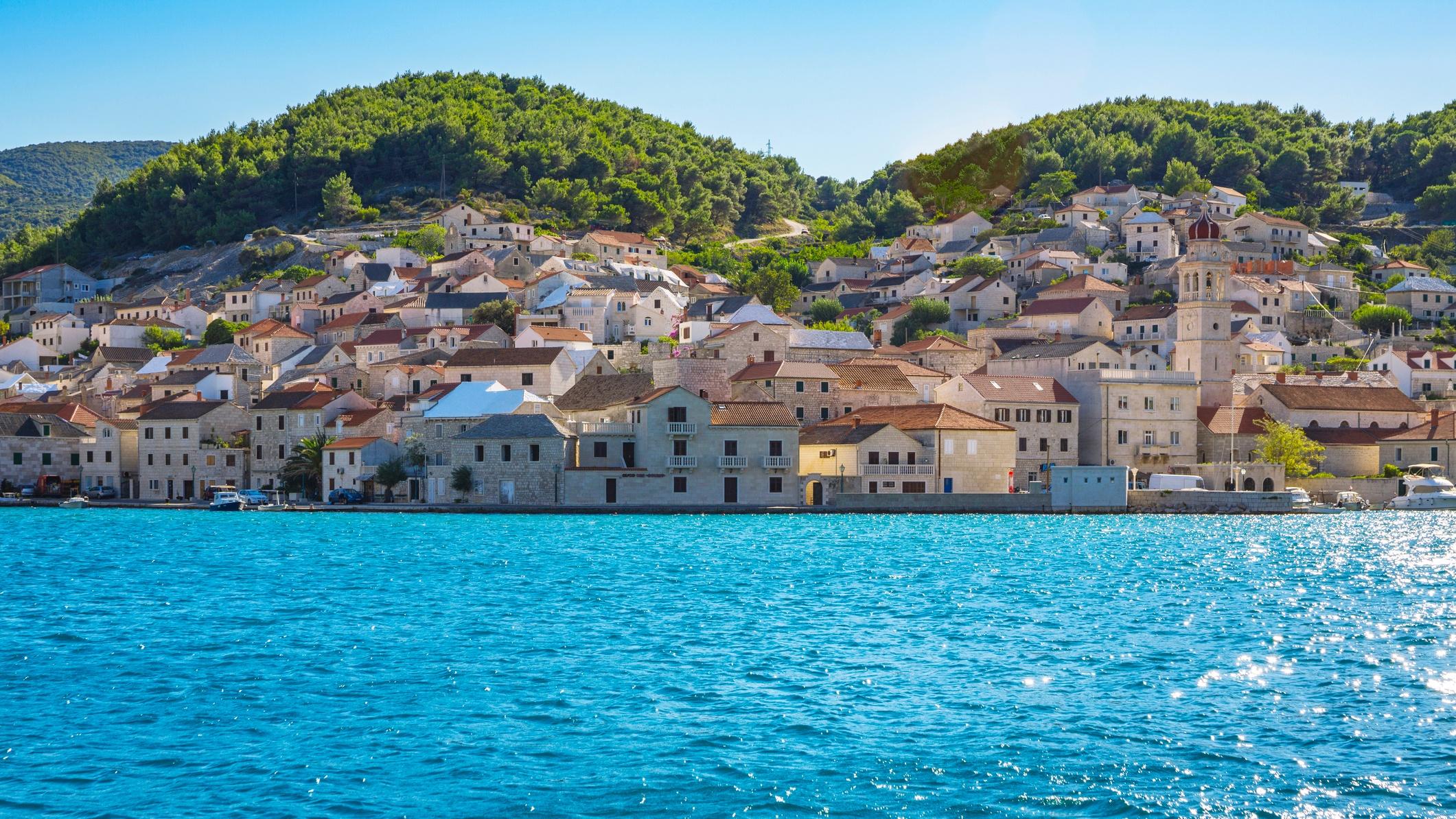 A horvátországi Brač-sziget