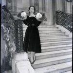 Estélyi ruha Hubert De Givenchy utolsó kollekciójából.