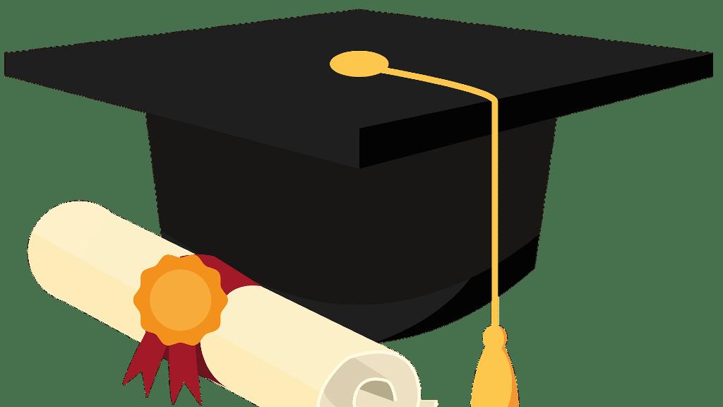 Diplomaosztás kellékei