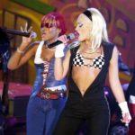 Gwen Stefani a 2001-es BET Awards gálán.