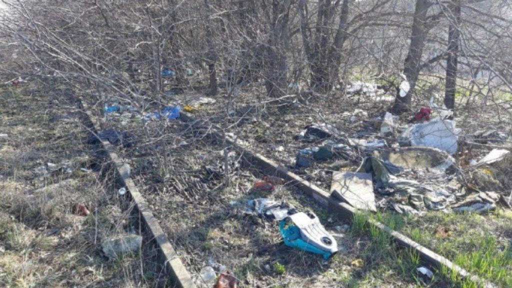 illegális hulladék máv