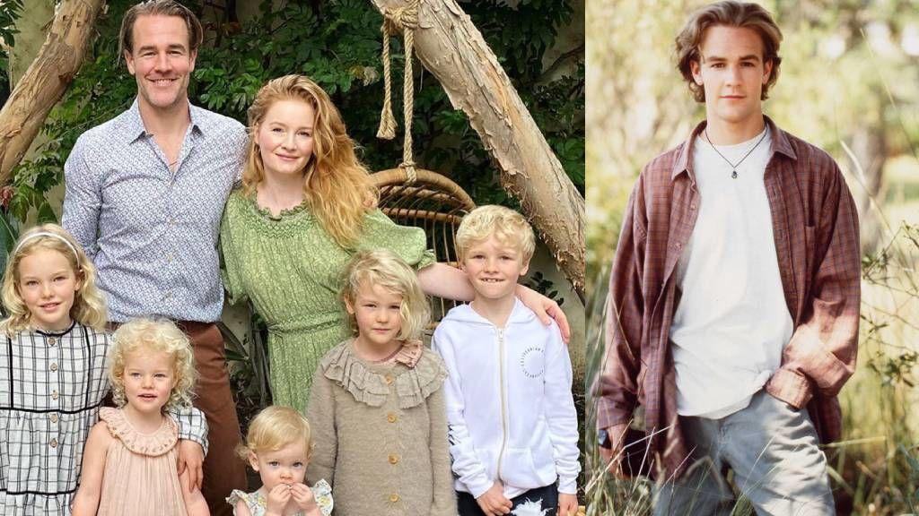 James Van Der Beek öt gyermek apukája