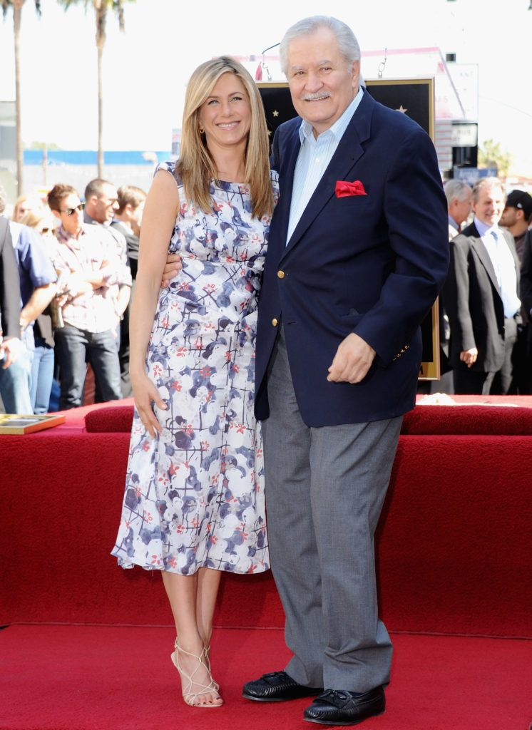 Jennifer Aniston és édesapja