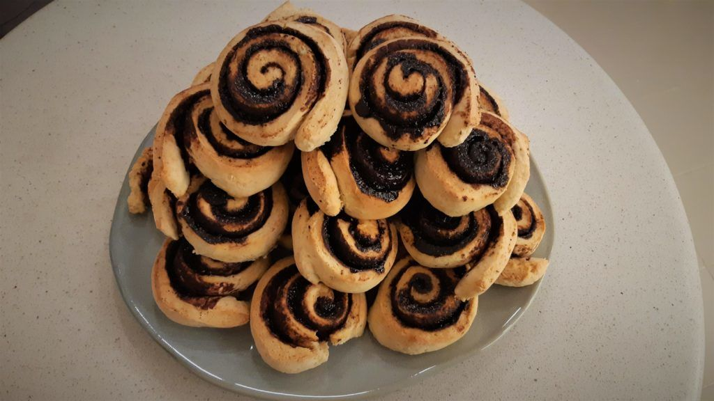 Gyors sütemény: 20 perces kakaós csiga