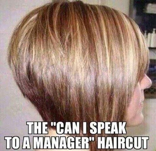 """A """"beszélni akarok a főnökével""""-frizura"""