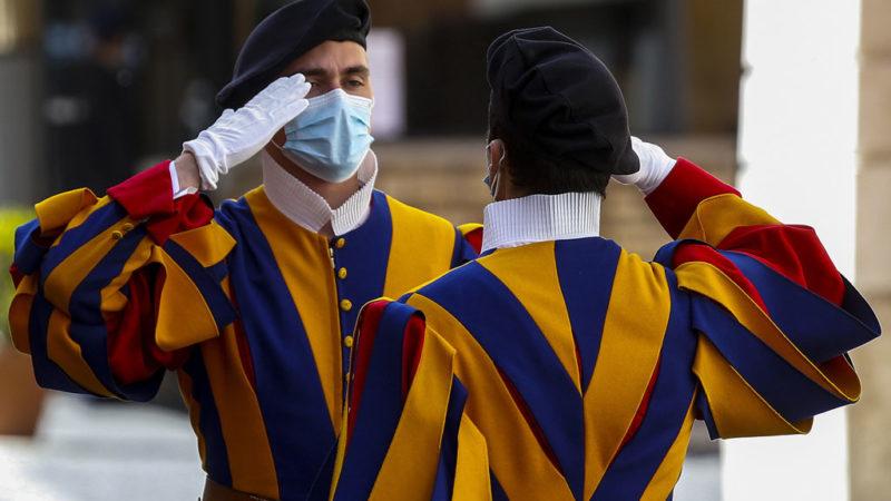 koronavirus svájci gárda