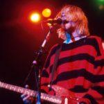 Kurt Cobain a Nirvana egy New York-i koncertjén.