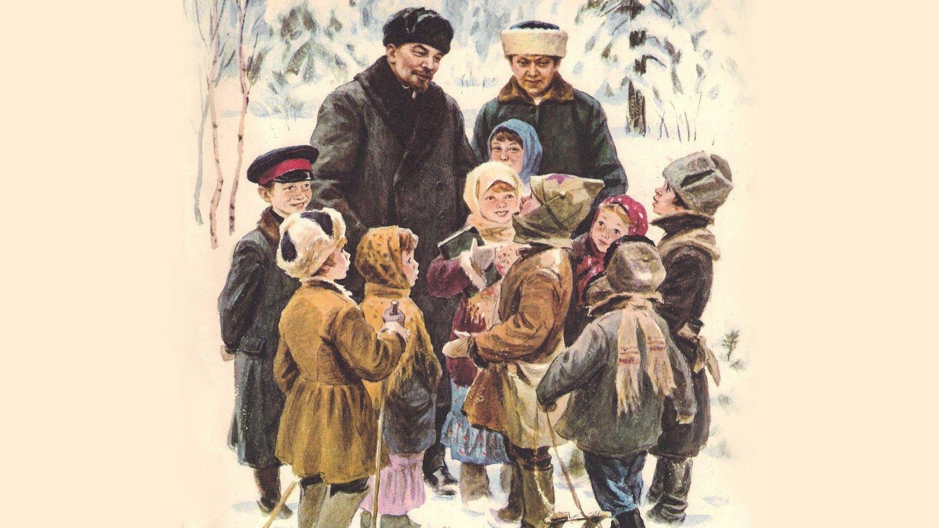 Így használta a gyerekeket a szovjet diktátor