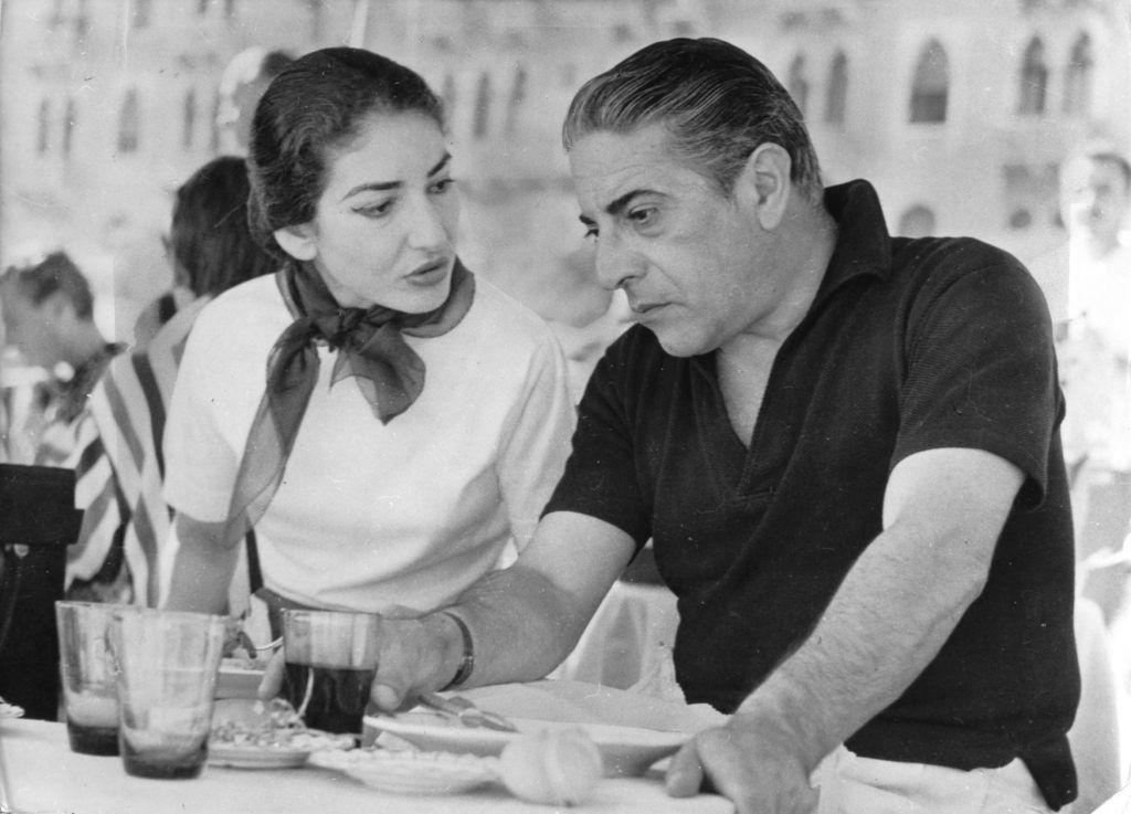 Maria Callas és Aristoteles Onassis
