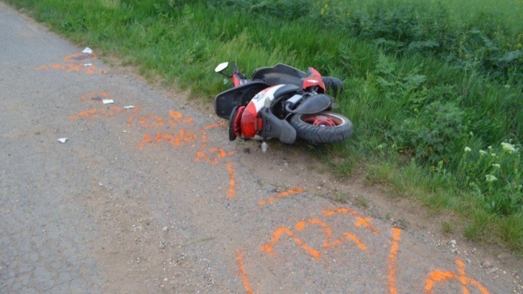 13 éves fiú motor baleset