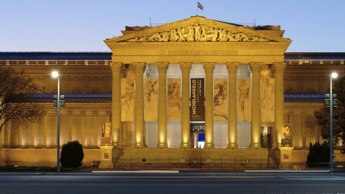 A budapesti Szépművészeti Múzeum