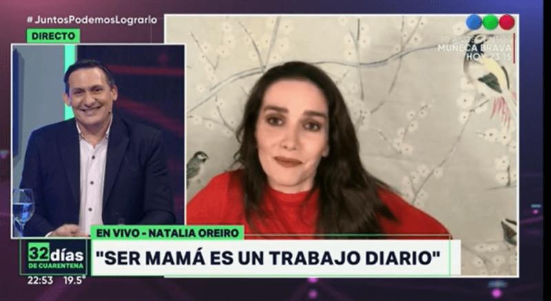 Natalia Oreiro a koronavírus idején