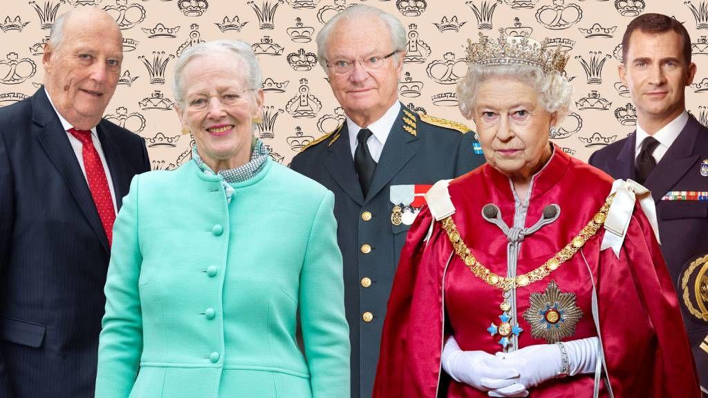 Viktória királynő ükunokái Európai mostani uralkodói