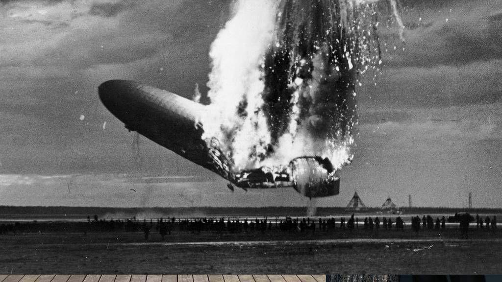 Hindenburg léghajó tragédiája 1937-ben