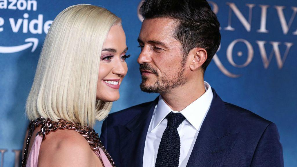 Orlando Bloom és Katy Perry egy 2019 augusztusi eseményen