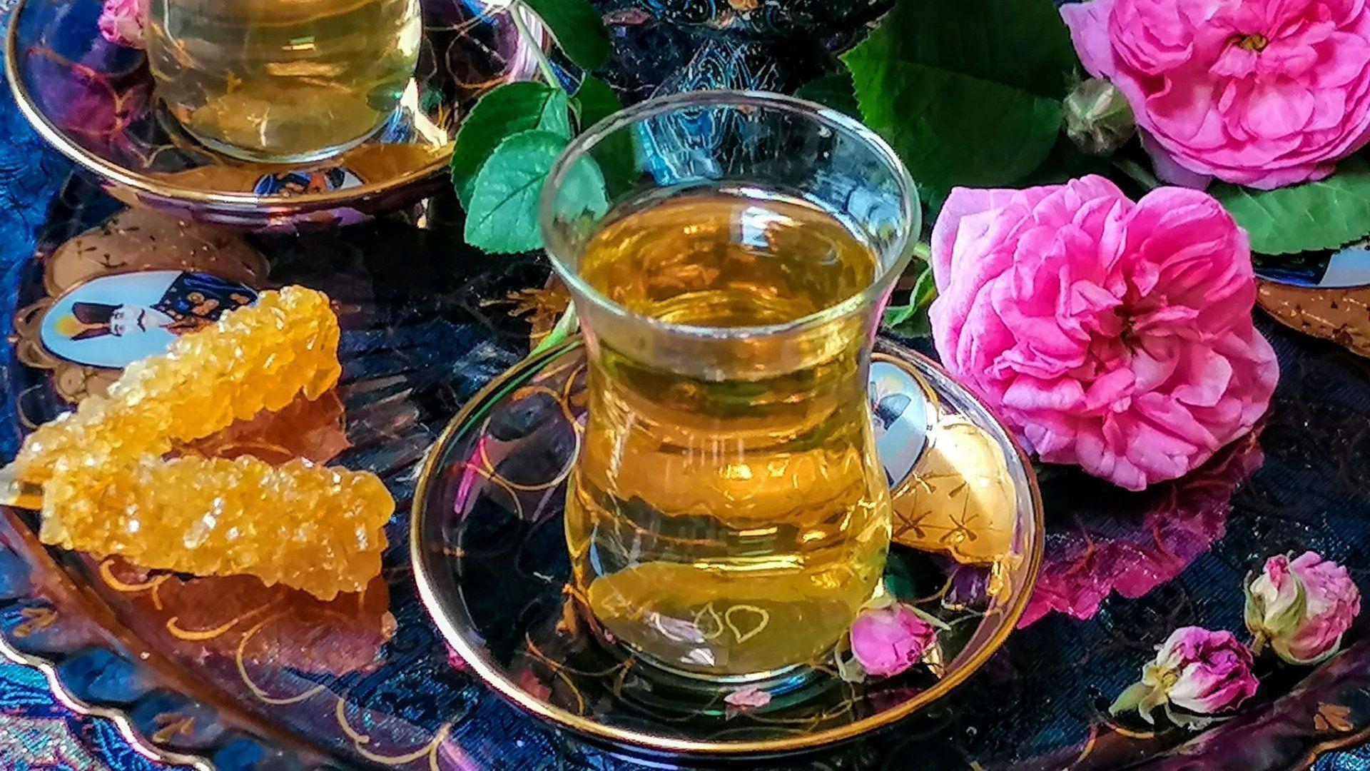 perzsa rózsatea
