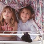 Az Olsen ikrek gyerekkorukban!