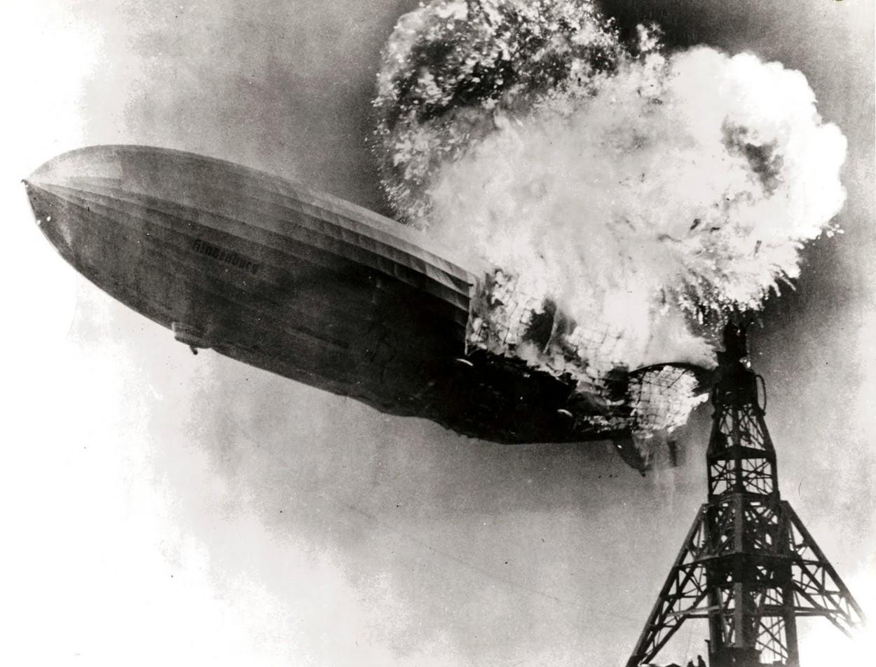 A Hindenburg léghajó katasztrófája