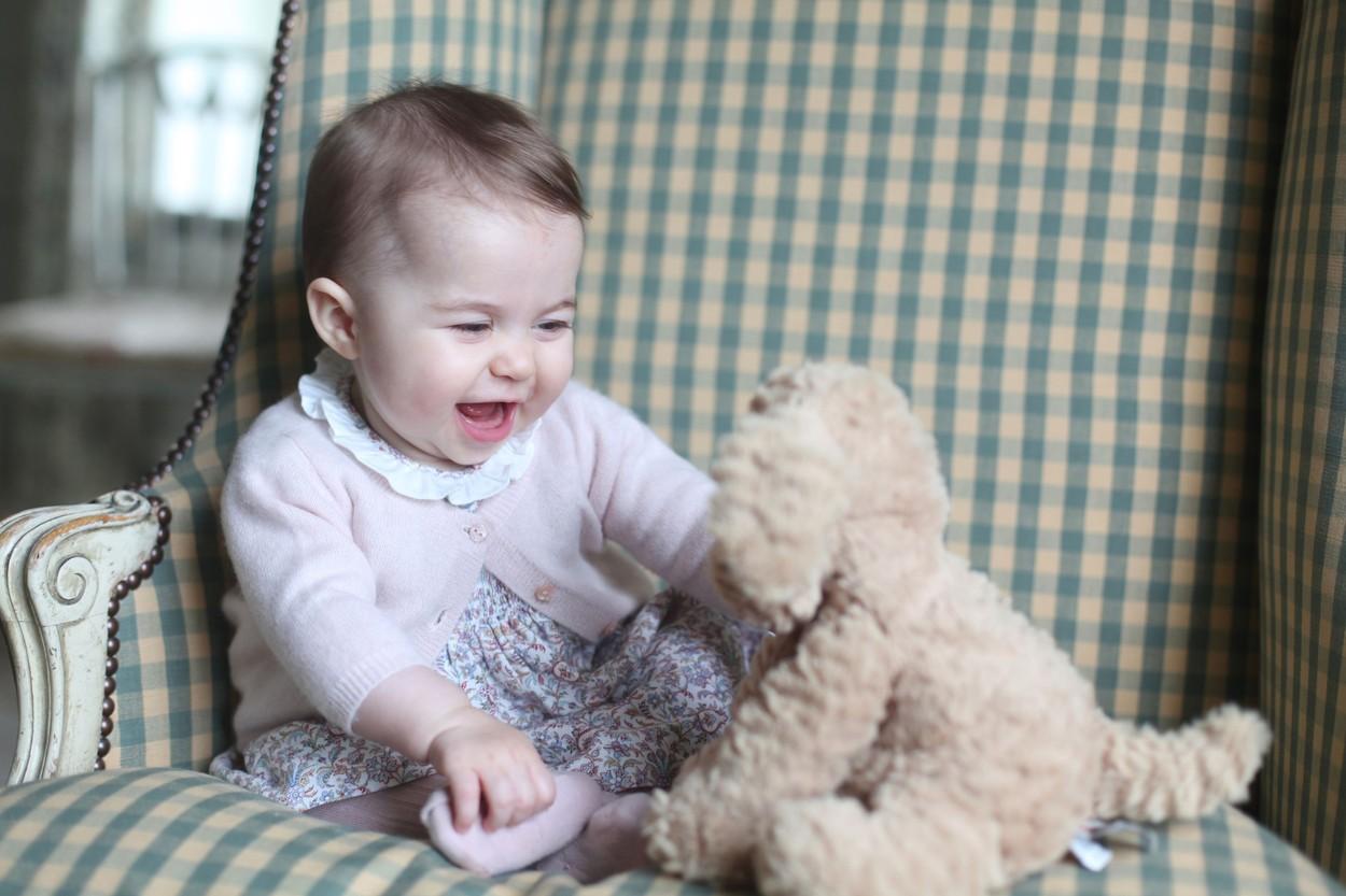 Sarolta hercegnő az első születésnapján