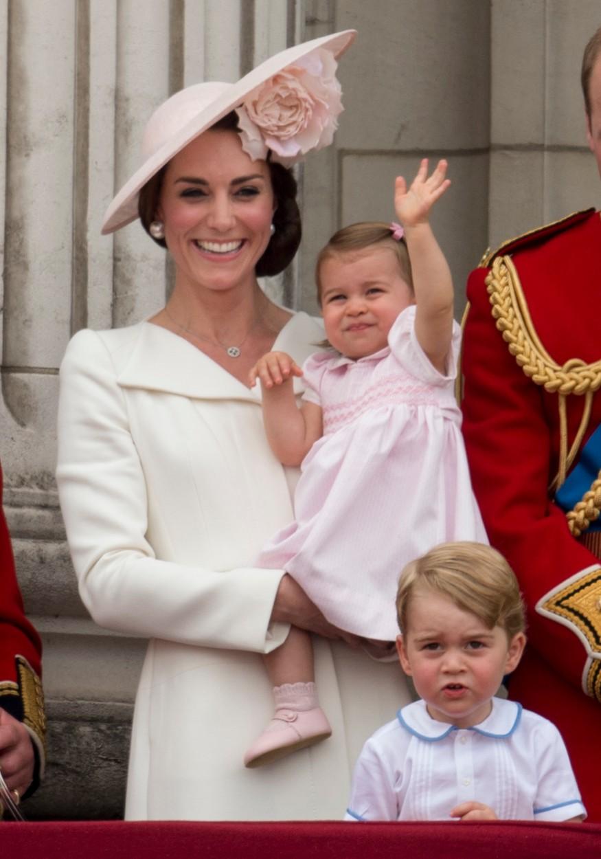 Sarolta hercegnő 2016-ban II. Erzsébet hivatalos születésnapján