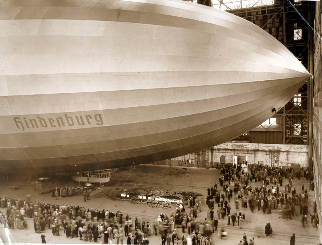 Hindenburg léghajó 1936-ban