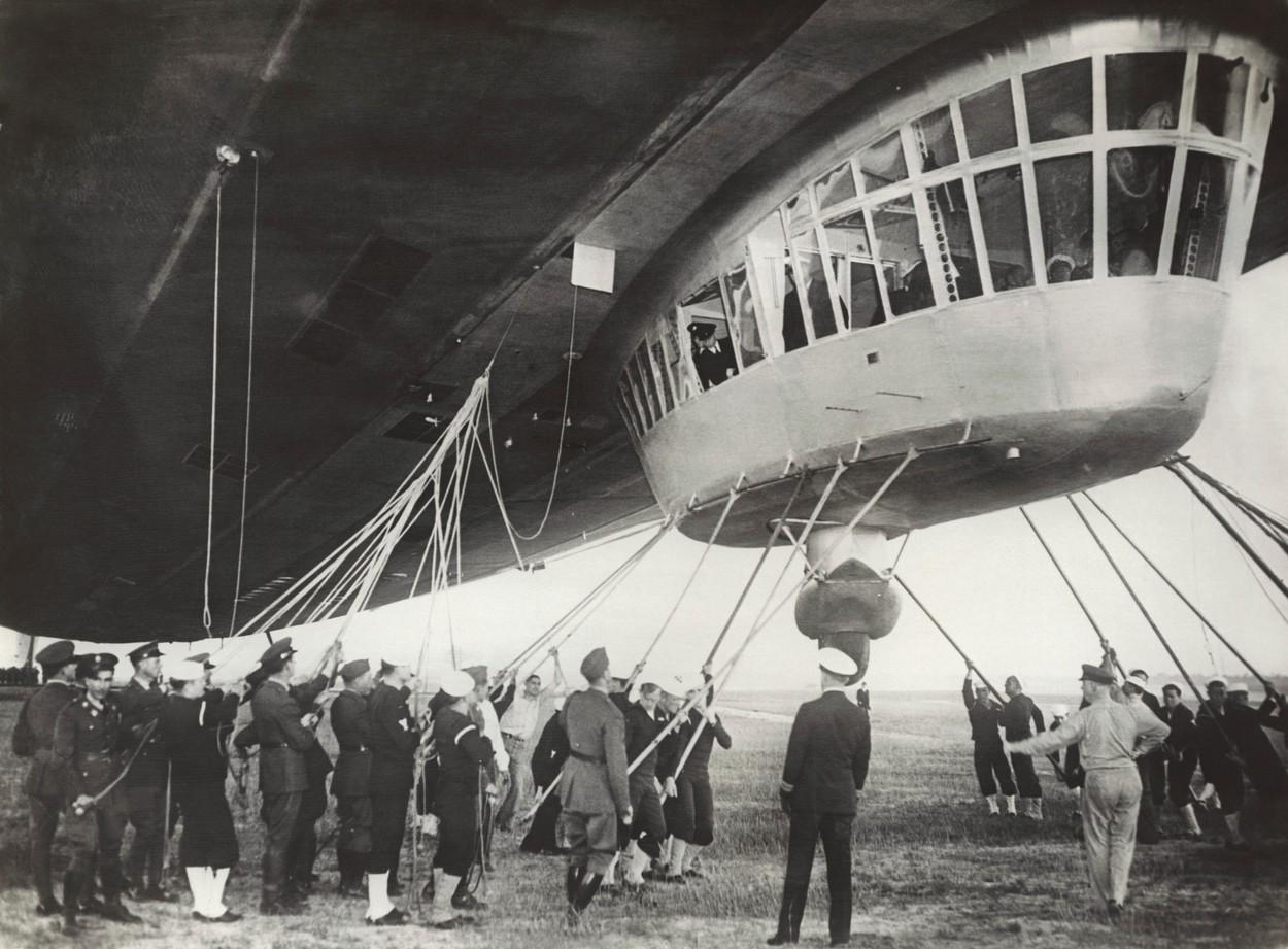 1937-ben a Hindenburgnak rekord utat terveztek