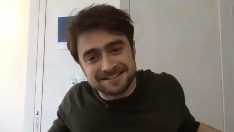 Daniel Radcliffe a házikaranténban