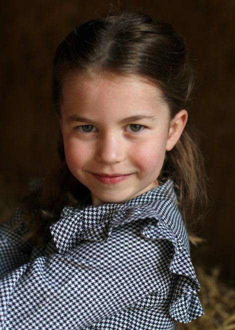 Sarolta hercegnő az ötödik születésnapján