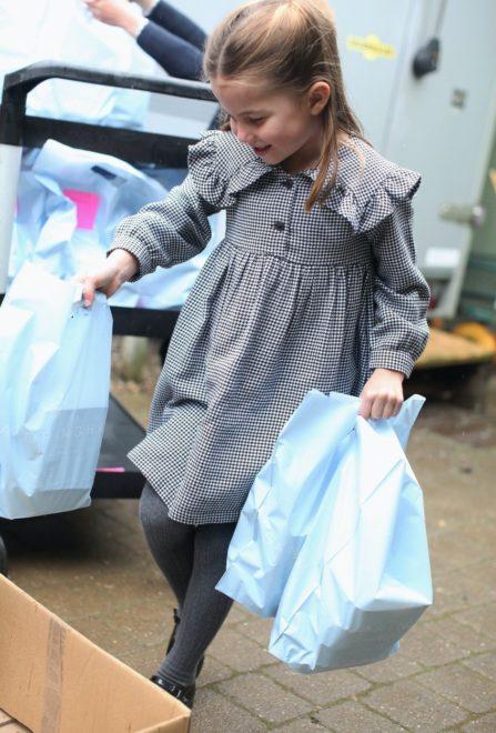 Sarolta hercegnő az ötödik születésnapján másoknak segít