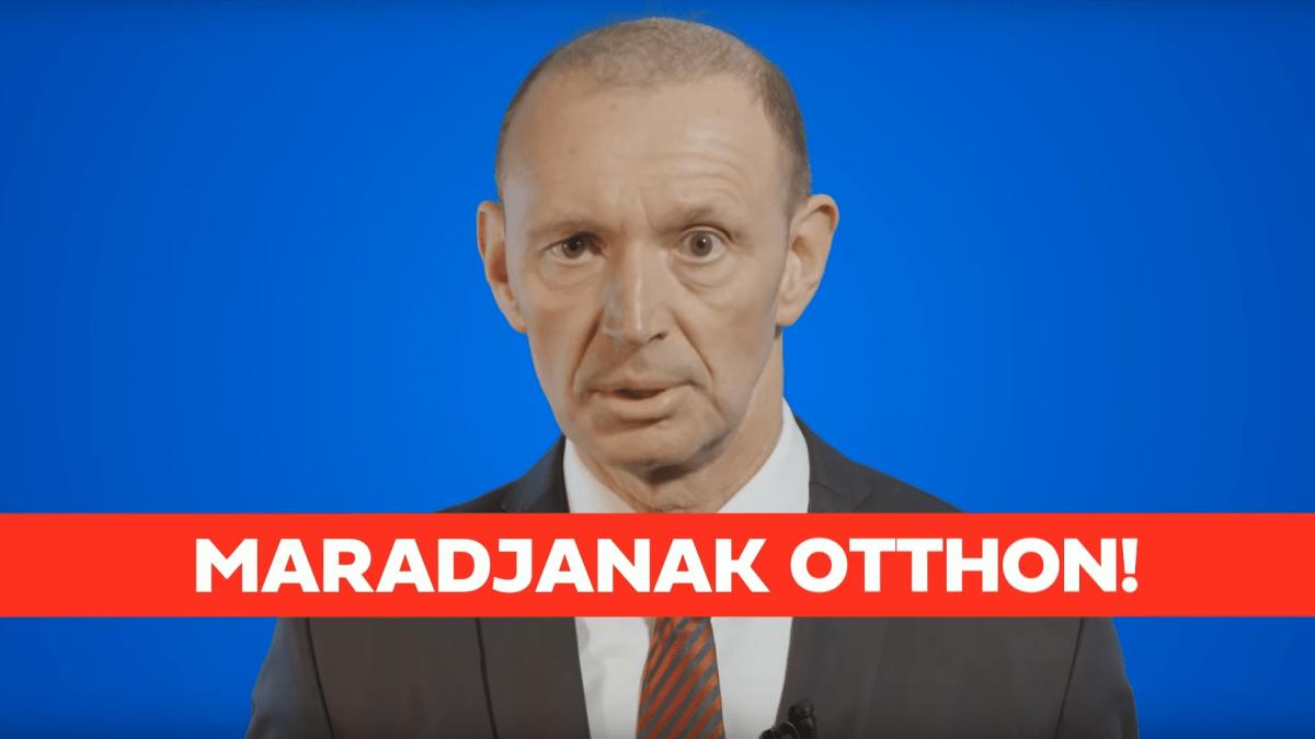 Győrfi Pál otthonmaradásra int minden magyart