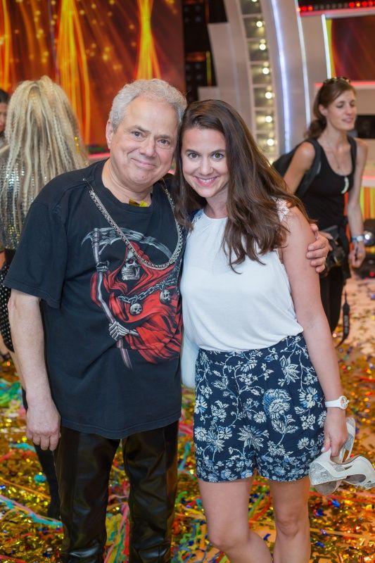 Rózsa György a lányával, Csillával