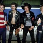 A Sex Pistols tagjai amerikai turnéjukon.