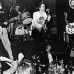 Sex Pistols koncert 1975 körül.
