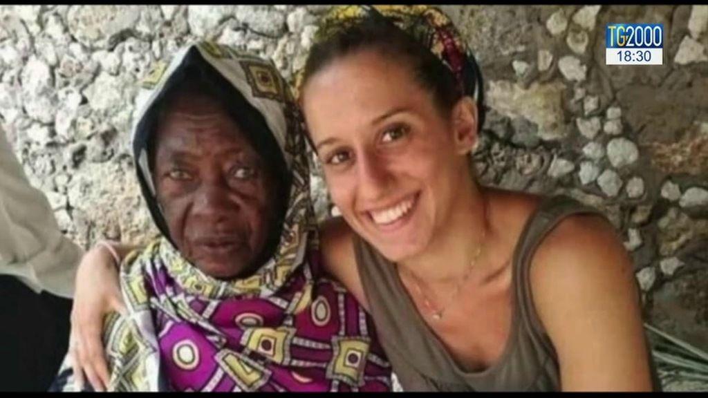 Silvia Romano 24 éves önkéntes Afrikában