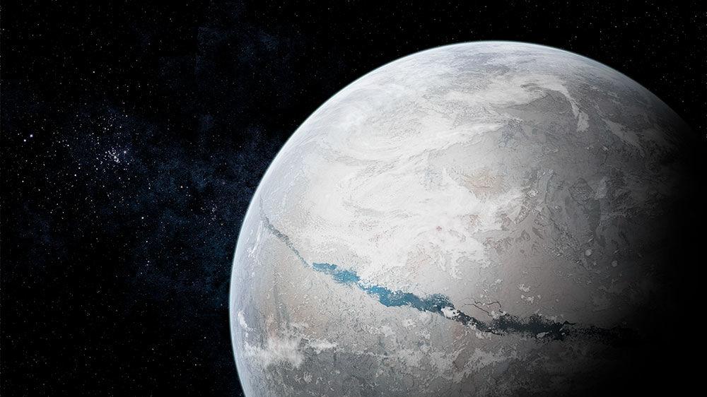 A Föd mint fagyott hógolyó (forrás: sciencemag.org)