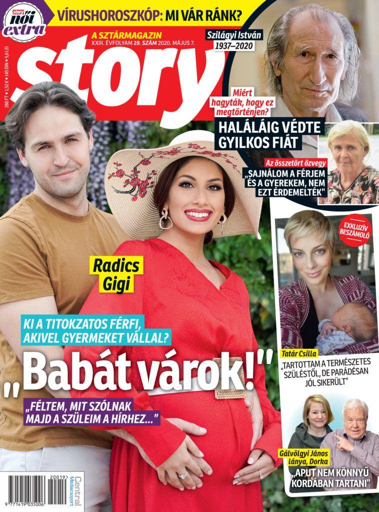 Radics Gigi gyereket vár, Tatár Csilla először mesél a lányáról, Szilágyi özvegye megszólalt