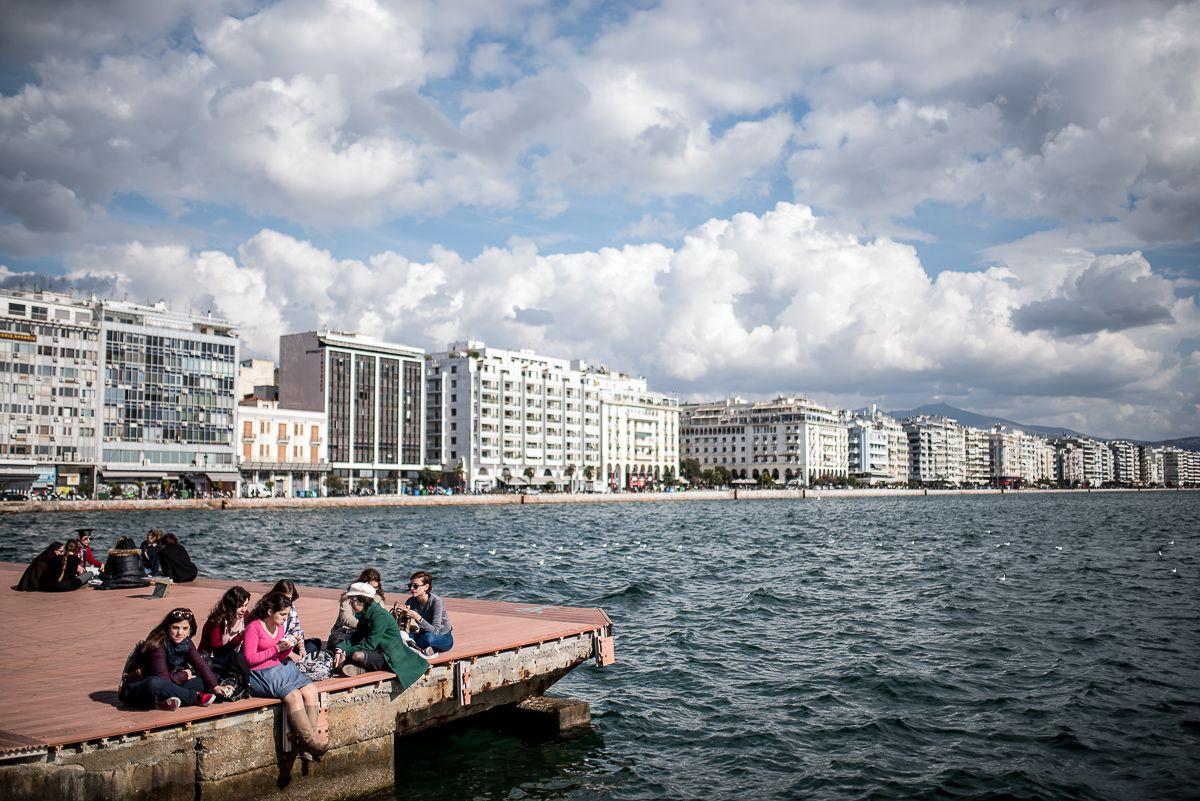 Szaloniki tengerpartja