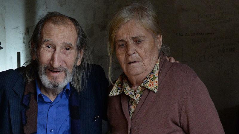 Szilágyi István és felesége, Jolika néni