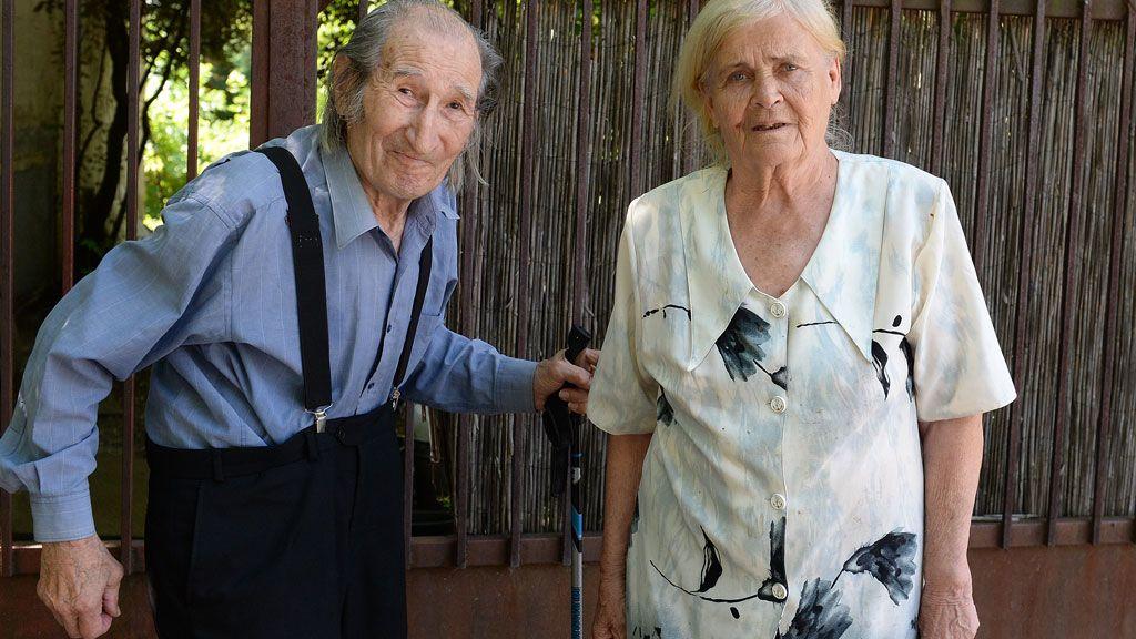 Szilágyi István és felesége