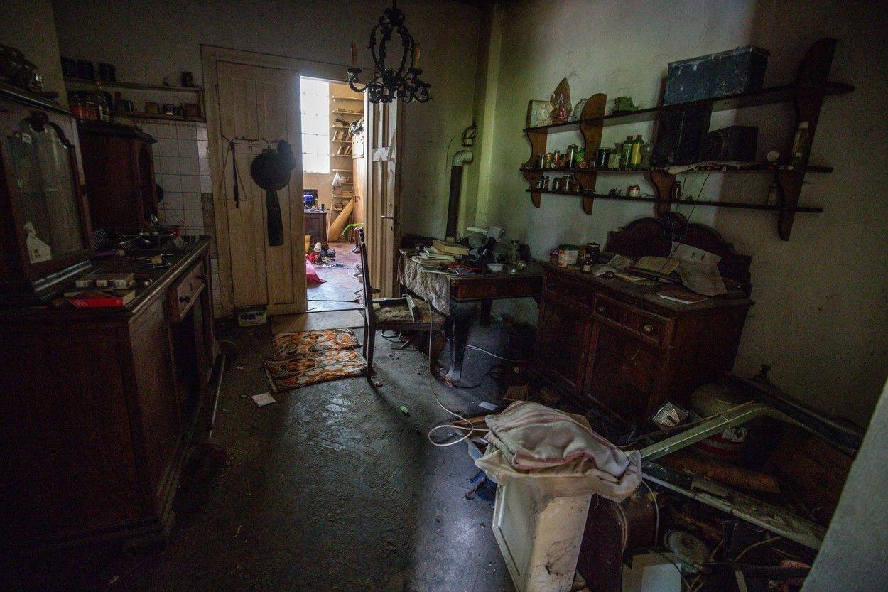 Szilágyi István és felesége házában alig maradtak bútorok