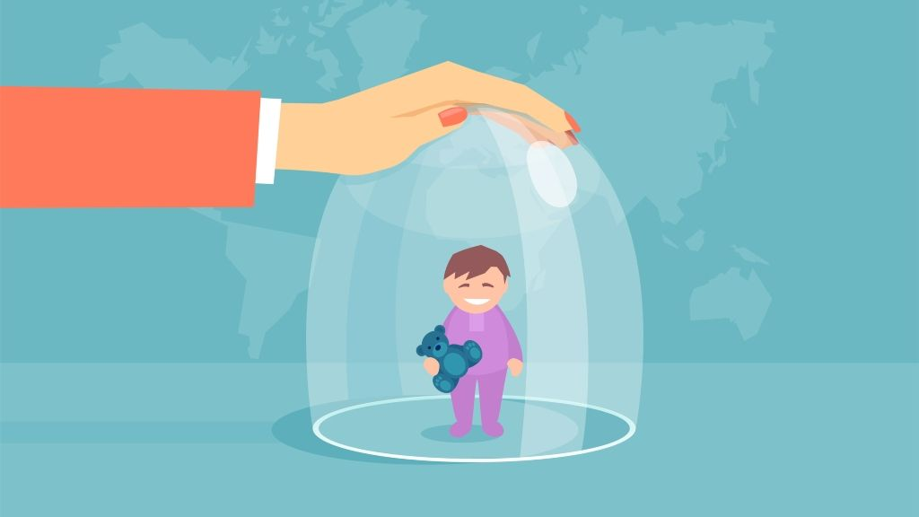 A fűnyíró szülő nem tanítja meg az életre a gyereket
